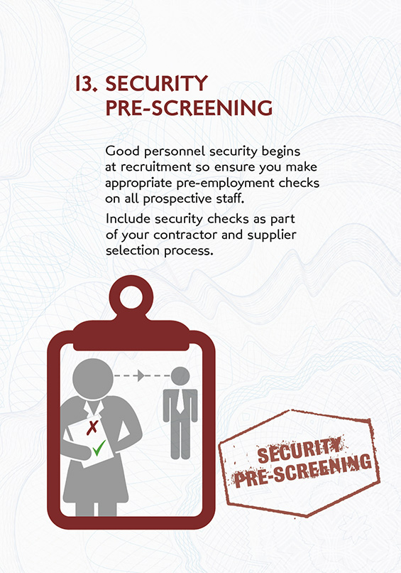13-security-pre-screening