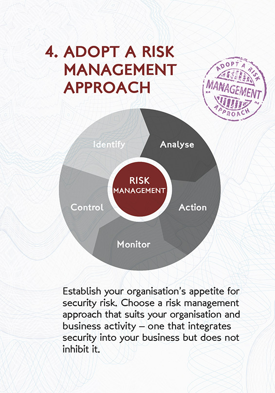 Risk Management Helps Manage Identified Threats Or Risks To Most