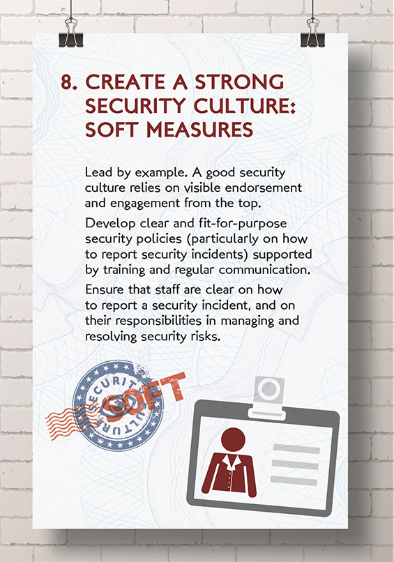 Create a Strong Security Culture - Soft Measures | Public