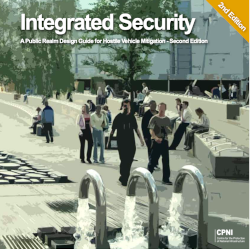 Front cover of guidance IntegratedSecurity
