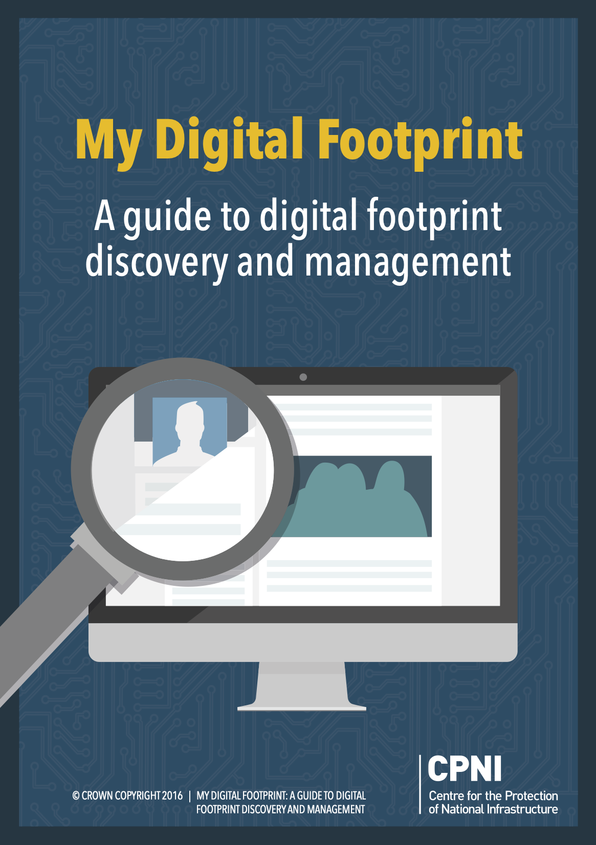My Digital Footprint front cover