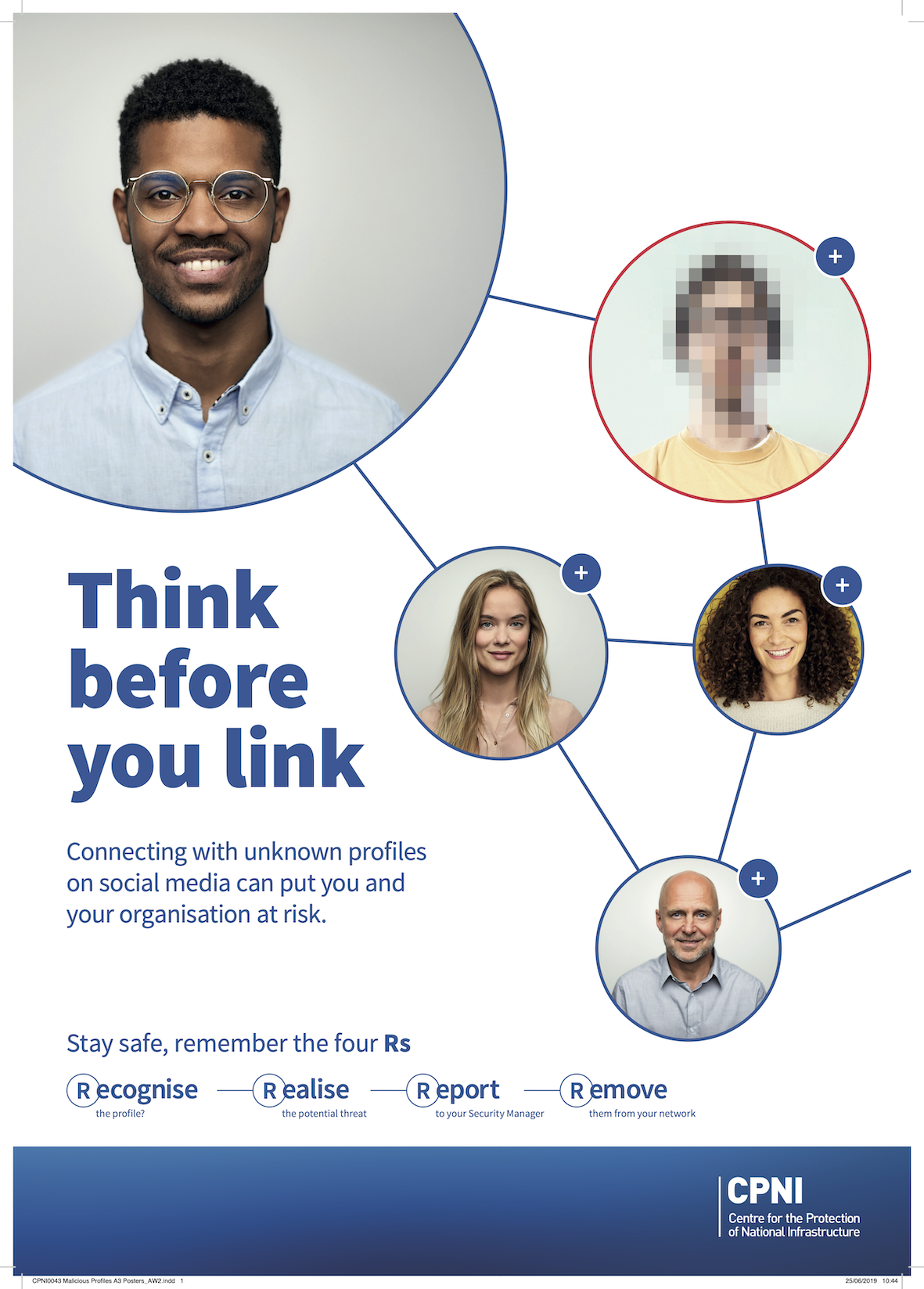 Think Before You Link poster