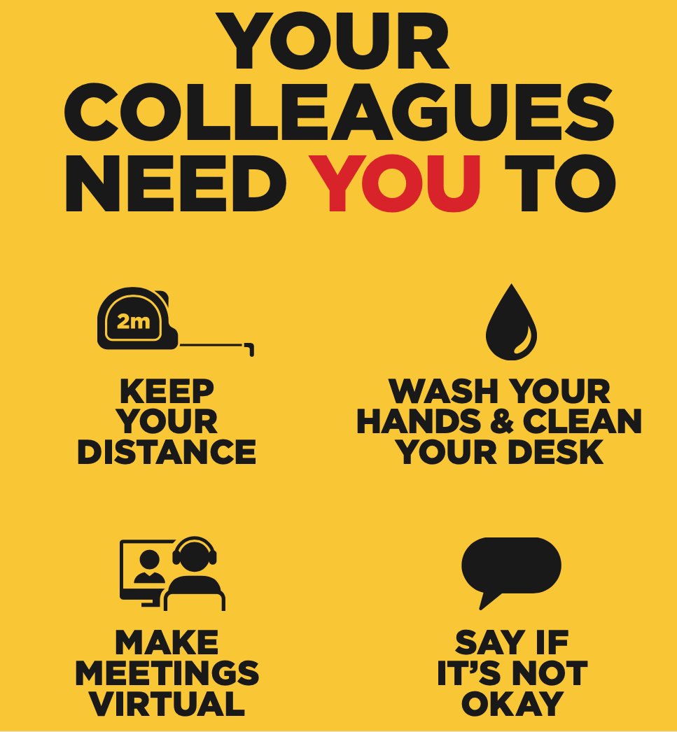 Workplace Behaviour poster
