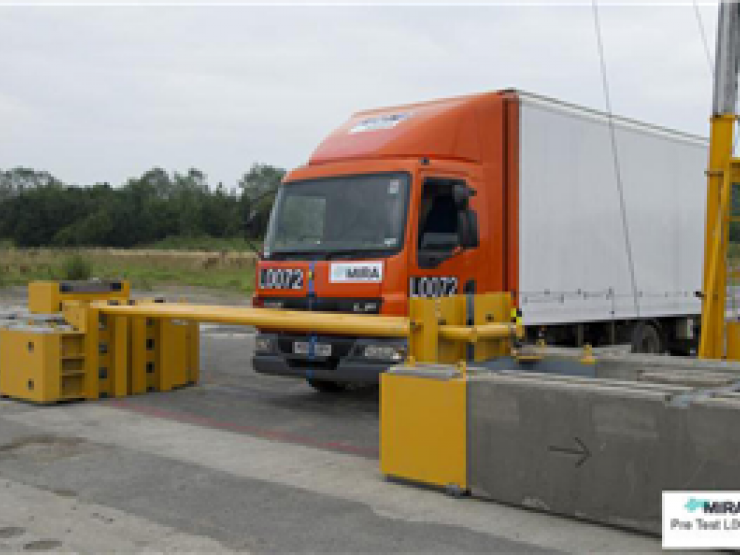 Rising Arm Barrier with Hardstaff units