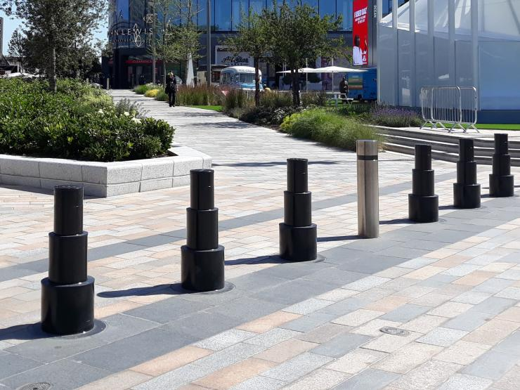 EAG060-30AT Retractable Telescopic Bollard